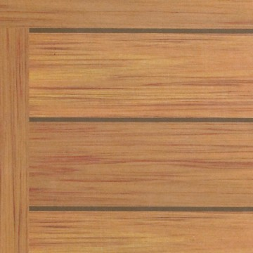 "48""x32"" Molded Melamine Tabletop X1 Teak"