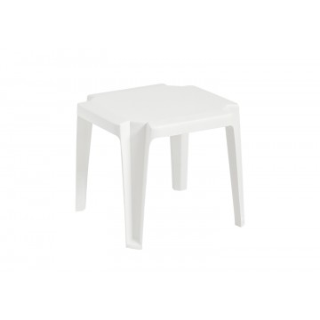 "Miami 17""x17"" Low Table White"