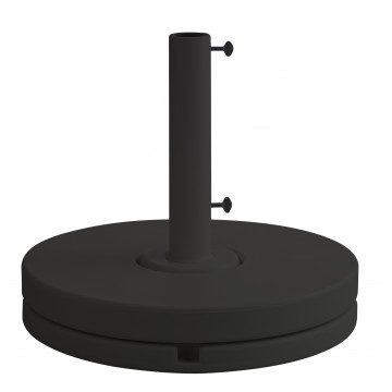 70 lb. Market Umbrella Base Black