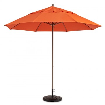 Windmaster 7.5ft Fiberglass Umbrella Orange