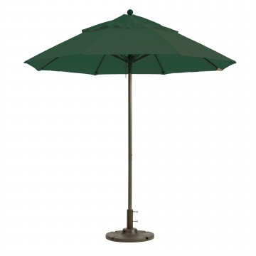 Windmaster 7.5ft Fiberglass Umbrella Forest Green