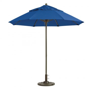 Windmaster 9ft Fiberglass Umbrella Pacific Blue