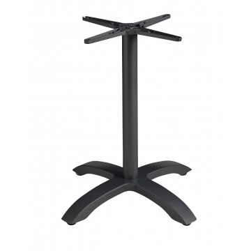 Aluminum Central Pedestal Base Black