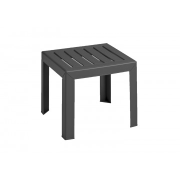 "Bahia 16""x16"" Low Table Charcoal"