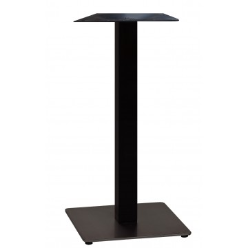 "Beta Bar Height Base 18""x18"" Black Column/Black Base"
