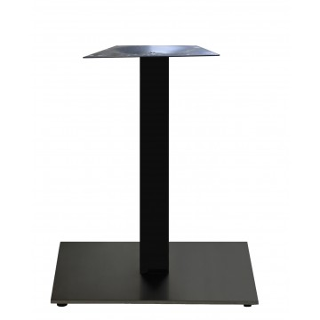 "Beta Base 22""x22"" Black Column/Black Base"