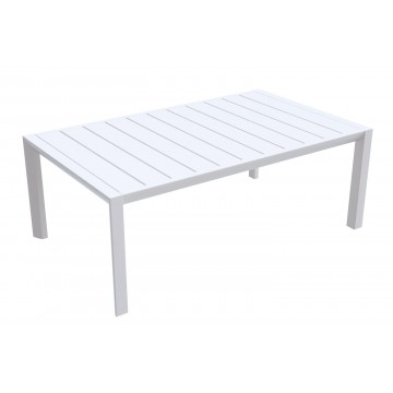Sunset Cocktail Table Glacier White