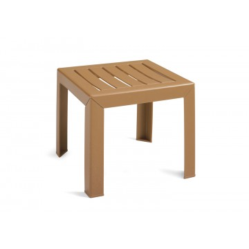 "Bahia 16""x16"" Low Table Teakwood"