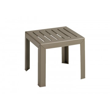 "Bahia/Westport 16""x16"" Low Table French Taupe"