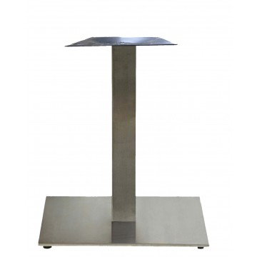 "Gamma Base Dining Height 22""x22"" Silver Gray"