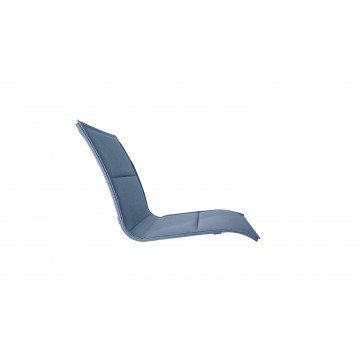 Sunset Lounge Chair Comfort Replacement Sling Madras Blue