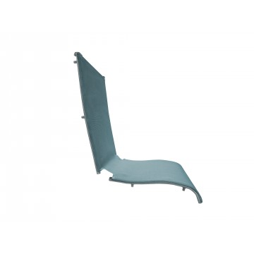 Jamaica Beach Folding Chair Replacement Sling Spa Blue/Silver Gray