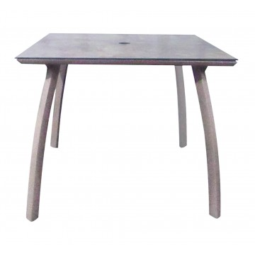 "36"" Square Sunset Table Concrete/Platinum Gray"