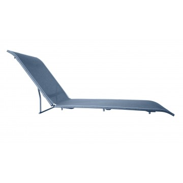 Sunset Chaise Replacement Sling Madras Blue