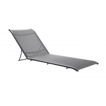Sunset Chaise Replacement Sling Solid Gray