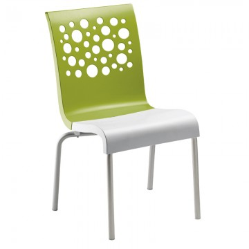 Tempo Stacking Chair Fern Green