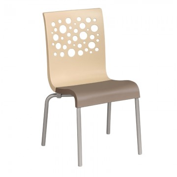 Tempo Stacking Chair Beige