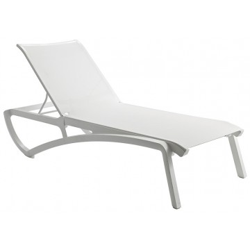 Sunset Chaise Lounge White/Glacier White