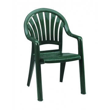 Pacific Fanback Armchair Amazon Green