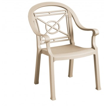 Victoria Classic Dining Armchair Sand