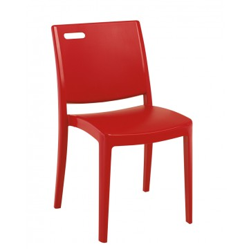 Metro Chair Apple Red