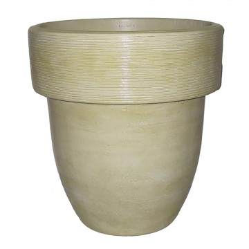 "20"" Toledo Planter Travertine"