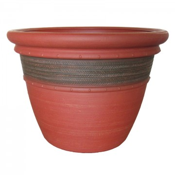 "20"" Cordoba Planter Red Clay"