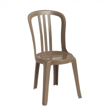 Miami Bistro Sidechair French Taupe