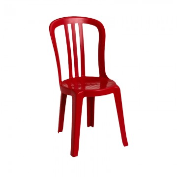 Miami Bistro Sidechair Red