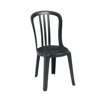 Miami Bistro Sidechair Black