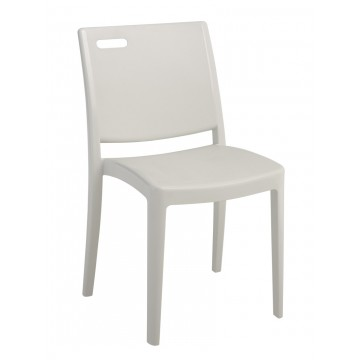 Metro Chair Glacier White