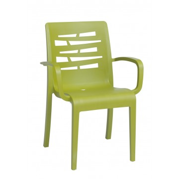 Essenza Stacking Armchair Fern Green