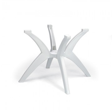 Y-Leg Pedestal Base White