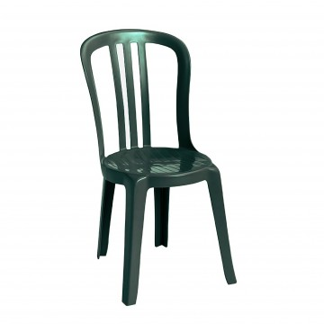 Miami Bistro Sidechair Amazon Green
