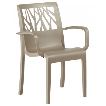 Vegetal Armchair French Taupe