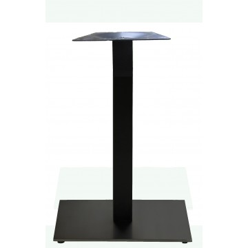 "Vanguard 22""x22"" Square Bar Height Base Black Column/Black Base"