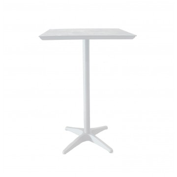 Sunset Bar Height Table White/Glacier White