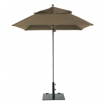 Windmaster 6.5ft Square Umbrella Taupe