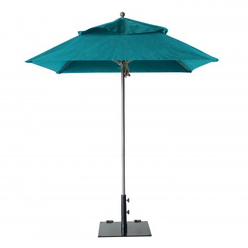 Windmaster 6.5ft Square Umbrella Turquoise