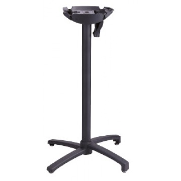 X1 Bar Height Tilt Top Base 100 Black