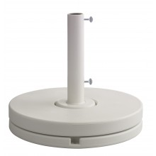 70 lb. Market Umbrella Base White