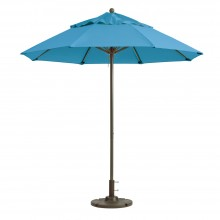 Windmaster 7.5ft Fiberglass Umbrella Sky Blue