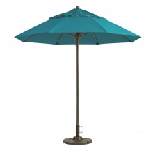 Windmaster 7.5ft Fiberglass Umbrella Turquoise
