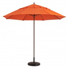 Windmaster 9ft Fiberglass Umbrella Orange