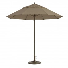 Windmaster 9ft Fiberglass Umbrella Taupe