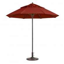 Windmaster 9ft Fiberglass Umbrella Terra Cotta