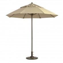 Windmaster 9ft Fiberglass Umbrella Khaki