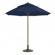 Windmaster 9ft Fiberglass Umbrella Navy