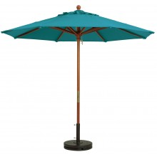 "9ft Market Umbrella w/ 1 1/2"" Pole Turquoise"