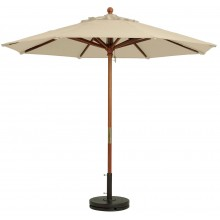 7' Market Umbrella Khaki